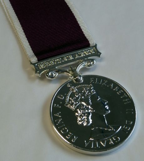 Scottish Medal Shop for the LSGC (Long Service and Good Conduct) medal with medal mounting options.